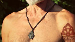 Uruz Rune Viking Amulet Runic Necklace