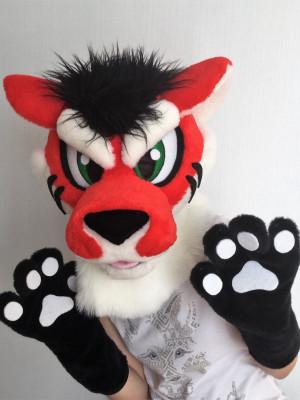 Grumpy tiger, fursuit head, tiger furry, fursuit kids, for girls, fursuit head cheap, fursuit partial premade, fursuit mini partial