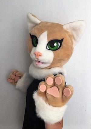 Persian cat fursuit, fursuit cat, fursuit kids, fursuit for girls, fursuit head cheap, fursuit partial premade, fursuit mini partial