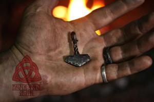 Forged  Iron THOR's HAMMER Mjölnir Mjolnir