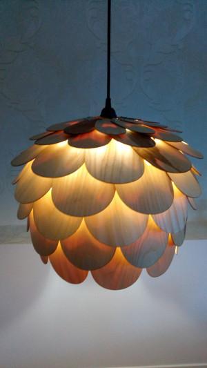 Wood pendant lamp / Ceiling lamp / Wood pendant light / Wooden Chandelier / Wood Handing Lamp / Handing Chandelier / Pendant Lamp
