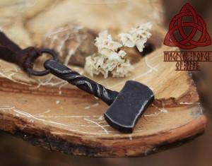 Forged Thor's Hammer Forged Mjolnir Viking Pendant Mjöllnir