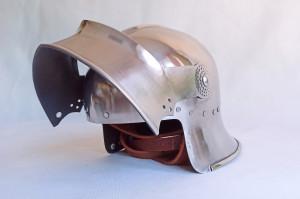 Gothic Plate HelmetSalad, 15th Century Medieval English Sallet Helmet, Bohemian Armor Reenactment Steel Helmet, Salad Tournament Helm