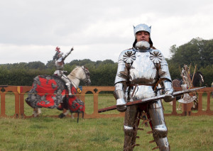 German Knight's Armor for SCA Medieval Reenactors and LARP, Gothic 13th Century Full Plate Armor, Steel Armor Sets for BoTN and HEMA Fencing