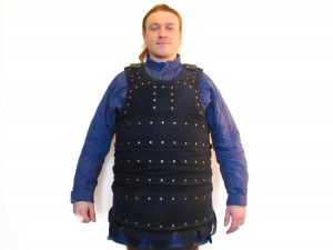 Medieval Brigandine Visby 13th Сentury Armour, Knights Combat Armor Brigandine with Wool Cover, Botn Armor for Buhurt