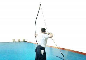 "Samurai War Bow, Daikyu 大弓 Yumi Bow, Japanese Kyudo Super Longbow 86"", Traditional Feudal Japan Samurai Bow, Yumi Bow for Art of Archery"