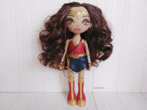 Wonder Woman rag doll handmade Art doll
