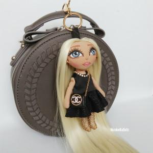 Rag doll handmade Fashion style Keychains
