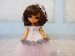 Doll knitted White dress Lati Yellow Outfit Pukifee clothes Irrealdoll Nikki Britt Aquarius white dress Cinderella for dolls clothes for BJD