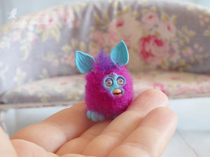 Doll Toy Furby 6th Scale Dollhouse Toy Barbie accessories Lati furnitures Pukifee miniature toy Blythe doll Furby Dollhouse accessories