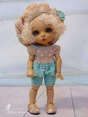"Lati Yellow\Irrealdoll\Pukifee\Nikki Britt\Aquarius doll Outfit ""French"" for dolls PukiFee\Aquarius\Lati Yellow\clothes for bjd To Order"