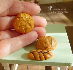 Set bread No. 2. Dollhouse miniaturе