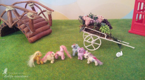 Dollhouse miniature Toy Set little Pony and Spike Lati Yellow accessories Pukifee Doll Toys Dollhouse Set little pony Dollhouse furnitures
