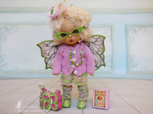 "Lati Yellow\Irrealdoll\Pukifee\Nikki Britt\ Aquarius doll Outfit""Spring fairy""for dolls PukiFee\ Lati Yellow\Doll clothes for bjd TO ORDER"