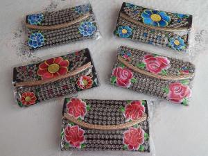 Thanksgiving gift,give Thanksgiving,Christmas present.Embroidered bag small,embroider handbags.Hill Tribe Bag,Boho Bag,Crossbody Bag,
