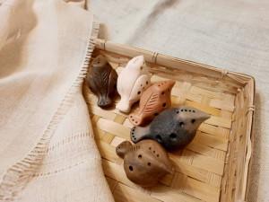 Ocarina/Ceramic ocarina/Whistle/Musical instrument/4 hole ocarina/For a kids/Sounding Toy/Gift/mini ocarina