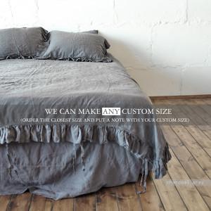 LINEN DUVET COVER , comforter , duvet cover , duvet cover queen , comforter set queen , green duvet cover, linen bedding, bedding set Len.Ok