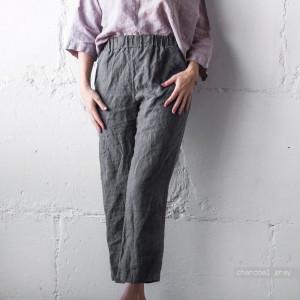 WOMENS LINEN PANTS grey linen pants, wide leg linen pants, loose linen pants,plus size linen pants, linen pants for men, black linen pants