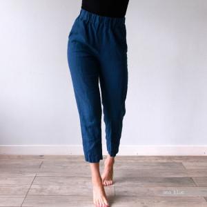 TROUSERS, regular pants, linen pants, wide leg pants, pajama pants, plus size high rise pants women, straight pants, linen for women, Len.Ok