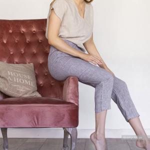 PANTS of 100% LINEN, organic yoga pants,pajama pants, women pants, dance pants, yoga pants, boho pants, casual pants, lounge pants, slim leg