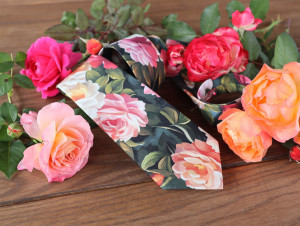 Tie Roses Wedding NeckTies Coral Floral Pink Flowers Men's skinny tie Petal Salmon Wedding Ties Bridal Rose Pocket square Special Order