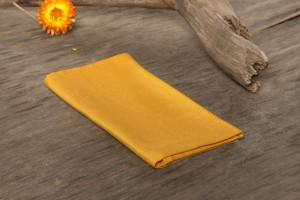 30% OFF SALE Pocket square Golden Mustard