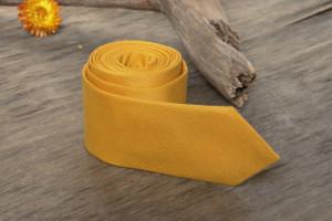 Golden Mustard Tie  Men's skinny tie Wedding Ties  Necktie for Men Special Order