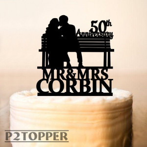 Anniversary Cake Topper,We Still Do Wedding cake topper,Two Name Cake Topper,50th anniversary Cake Topper,Wedding Anniversary cake topper329