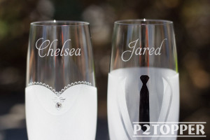 Personalized champagne flute,wedding toasting flute,engraved flute,wedding glasses,Mr and Mrs glasses,wedding champagne flute,Mr & Mrs flute