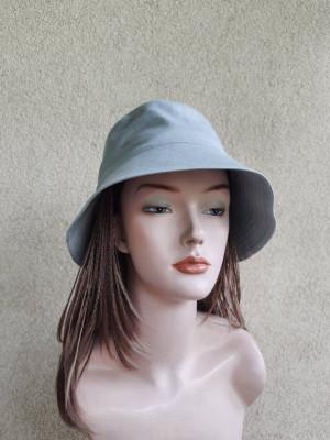 Women's ice-mint cotton sun hat with brim 3 inch, summer cotton bucket hat, nudes colors hats, Active style clothes,  bucket sun hat Panama
