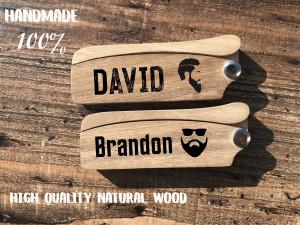 Personalized Beard Comb Folding Beard Comb Pocket Knife Comb Switch Blade Comb Fold Comb Fold-up Grooming Hair Comb Gift travel men comb