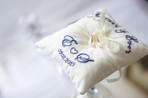 Ring bearer pillow, Wedding pillows, Personalized wedding gift, Rings holder, Ring cushion, embroidered gift, wedding gift for couple, gifts