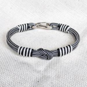 Viking bracelet / Scandinavian jewelry / gift for him / paracord bracelet / parachute cord / viking cuff / biker bangle /carbine bangle