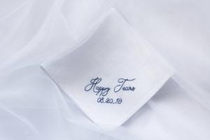 For your happy tears wedding handkerchief, No ugly crying wedding handkerchief, happy tears tissues, happy tears hankies, bridesmaids gifts