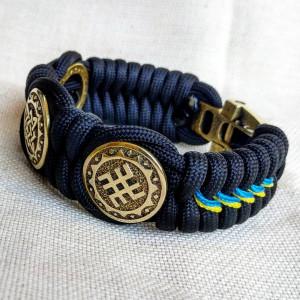 Viking  bracelet / Scandinavian  jewelry / gift for  him / paracord  bracelet / parachute  cord  / viking cuff