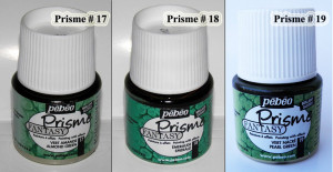 Pebeo Fantasy Prisme honeycomb effect acrylic paint # 17 Green or # 18 Emerald or # 19 Pearl Green Multi surface paint Opaque art paints A9F