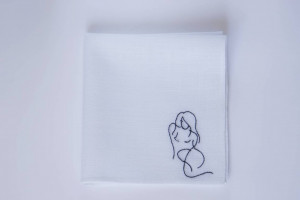 Sexy valentines day gift for him, funny valentines day gift for him, sexy gifts for him, romantic gifts for him, embroidered handkerchief