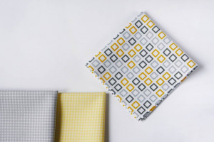 Set of 3 cotton pocket squares, Mens handkerchief, Dad hankerchief, Wedding hankerchief, Gift for husband, Anniversary gifts for men, Hanky