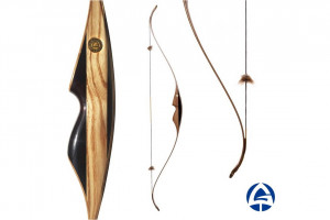 """SATURN Recurve Laminated 52"""" Bow, Modern Traditional Bow, Wooden Recurve Hunting Bow, Archery Hunter Bow Accessories, 3d Archery Wooden Bow"""