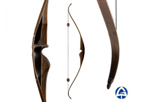 """ELEPHANT DELUX Recurve Laminated 60"""" Bow, Hunting Wooden Bow, Modern Traditional Bow, Gera Bows, Archery Bow Equipment"""