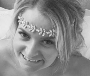Bridal Tiara Headband Silver Wedding Headband Bridal Headpiece Rhinestone Headband Hair Jewelry Bridesmaid Wedding tiara Bridal hairpiece