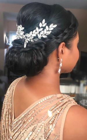 Bridal Hair Comb Silver, Swarovski Crystal Hair Comb, Wedding Hair Comb, Crystal Hair Comb, Bridal Headpiece, Bridal Hair Accessories