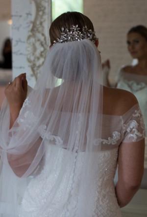 Crystal vine headpiece, Crystal crown, Crystal bridal comb, Crystal tiara, Bridal crown, Crystal headpiece, Wedding crown, wedding headpiece