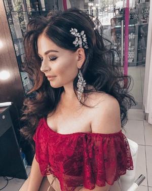 CZ Bridal Earrings, Wedding Earrings, Gold Earrings, Cubic Zirconia Earrings, Rhinestone Dangle Earrings, Bridesmaid Earrings