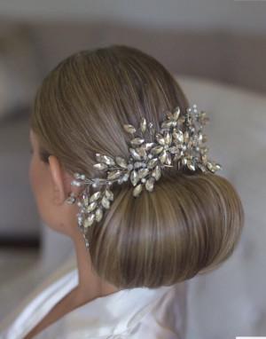 Wedding hair comb, Bridal headpiece, Crystal Hair Comb, Rhinestone hair comb, Bridal Hair Comb, Wedding hair piece, Wedding accessories