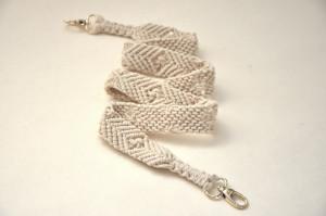Macrame cotton cord purse strap Replacement bag strap Phone case neck strap Cell phone lanyard