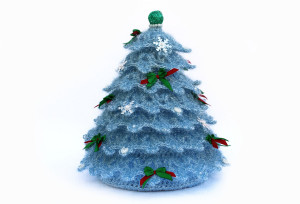 Christmas Tree Home Decor Crochet Tree Gift Christmas Gift for girlfriend Gift for parents Christmas decor Guest room décor Gift for mom
