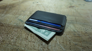 gifts for men, Boyfriend, Father, Son, Minimalist wallet, Leather card case, wallet for him, slim wallet