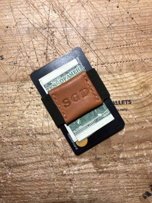 Money band, Elastic Money Clip, Personalized wallet, Gift for him, best friend, Boyfriend, Father, Son, Front Pocket Wallet