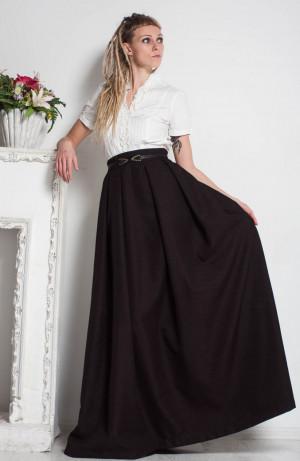 Black maxi skirt flared skirt pleats black skirt formal floor skirt special day skirt black cocktail skirt bridesmaid skirt prom black skirt